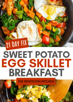 21 Day Fix Sweet Potato Egg Skillet Breakfast Recipe