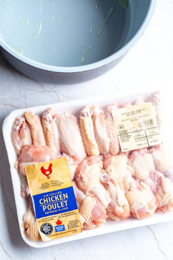 chicken raised by a Canadian farmer