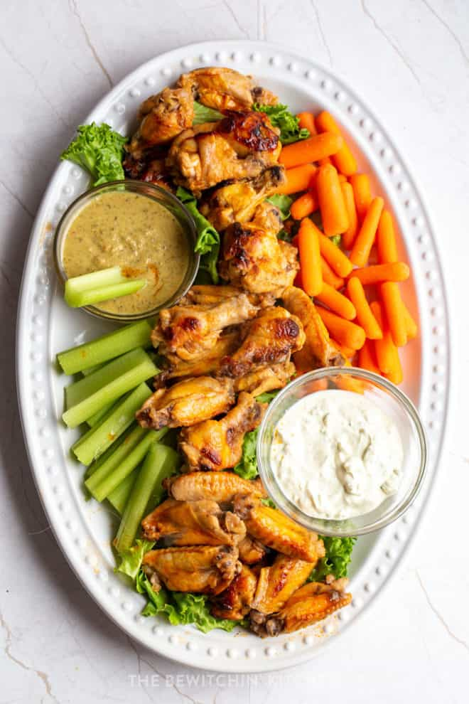 easy healthy hot wings