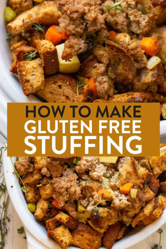 how to make gluten free stuffing