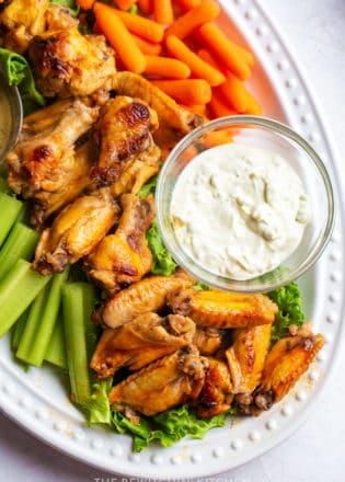 honey hot wings recipe