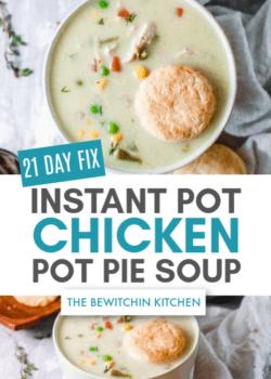 21 day fix chicken pot pie soup