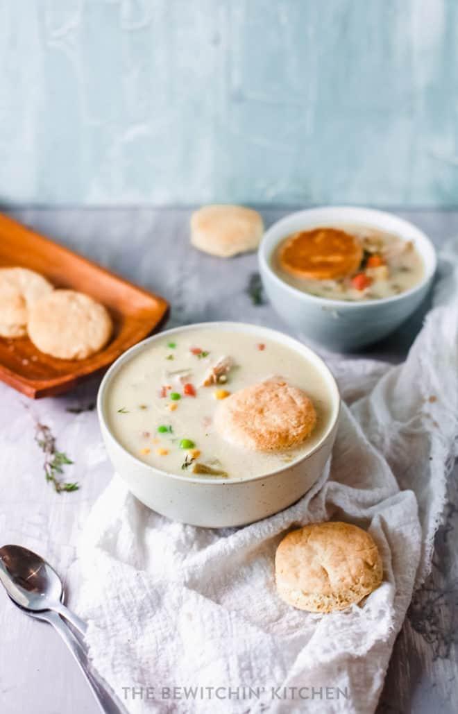 easy chicken pie soup