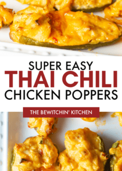 easy thai chili poppers