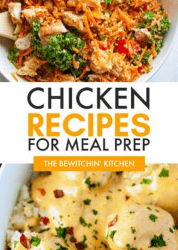 chicken meal prep recipes