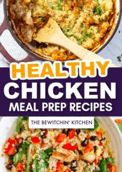 healthy chicken meal prep recipes