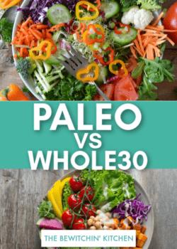 whole30 vs paleo