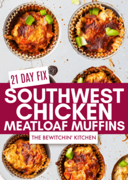 21 Day Fix Chicken Meatloaf Muffins