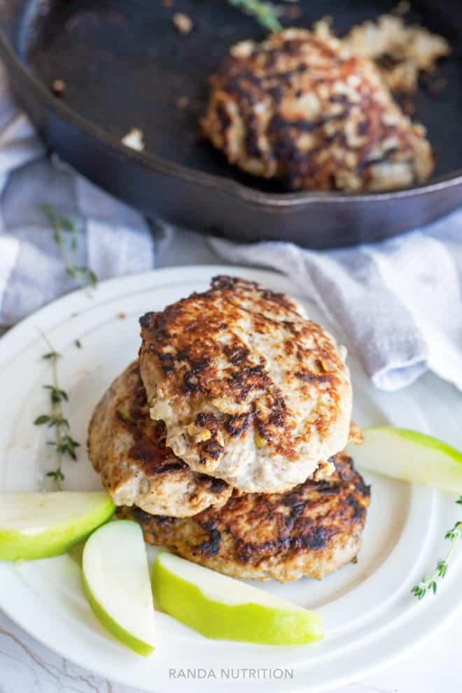 healthy chicken breakfast sausage