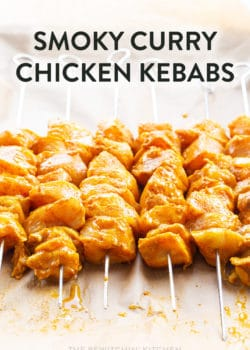 curry chicken kebabs recipe