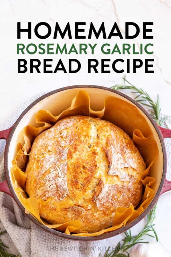 homemade rosemary garlic bread recipe