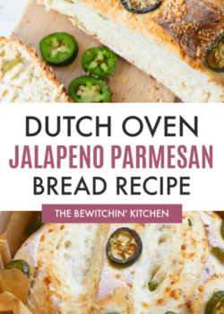 Easy Dutch Oven Jalapeno Parmesan Bread Recipe