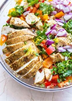 Mediteranean Chicken Salad