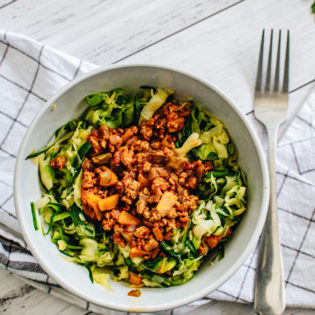 Zucchini Noodles with Bolognese
