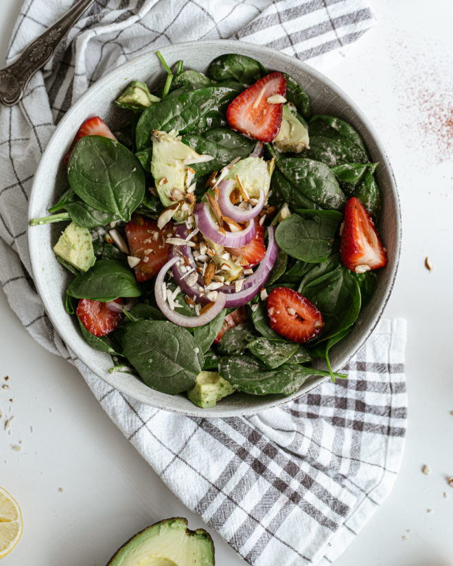 Strawberry Spinach Salad Dressing and Recipe